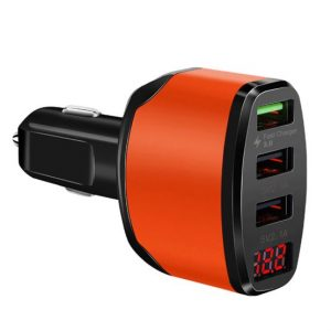 3-Way Car USB Fast Charger
