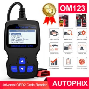 AUTOPHIX OM123 OBD2 Diagnostic Scanner & Code Reader