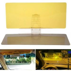 Anti-Glare Anti-UV Sun Visor for Day & Night Driving