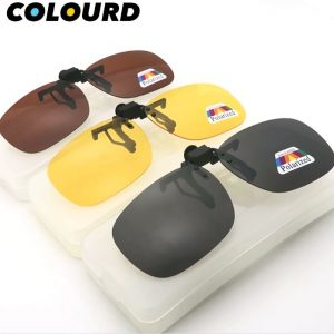 COLOURD Clip-On Polarized Sunshade Lenses