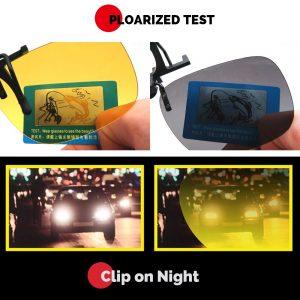 COLOURD Clip-On Polarized Sunshade Lenses