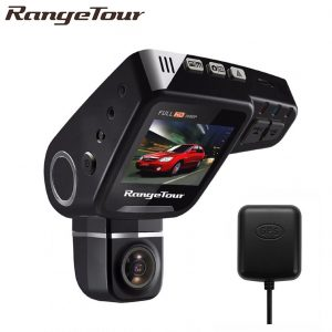 RangeTour C10S 360º Rotatable Car Dash Cam with GPS Support