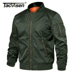 TACVASEN Premium Baseball Style Winter Jacket