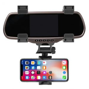 XMXCZKJ Rearview Mirror Car Phone Mount
