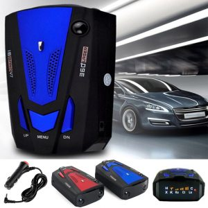 KSLM 16 Band V7 360º Laser & Radar Detector with Voice Alert Warning