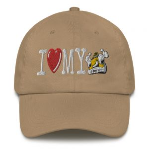 """""""I LOVE MY TAXI"""" Yupoong Dad Hat"""