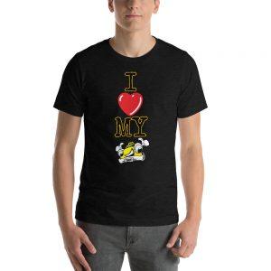"""I LOVE MY TAXI"" Premium Dark Color T-Shirt"