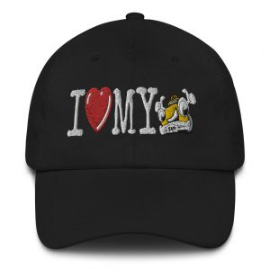 """I LOVE MY TAXI"" Embroidered Yupoong Dad Hat"