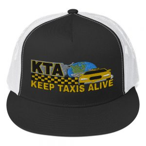 """KEEP TAXIS ALIVE – v1"" Embroidered Yupoong Trucker Cap"