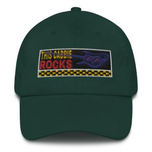 """THIS CABBIE ROCKS"" Embroidered Yupoong Dad Hat"