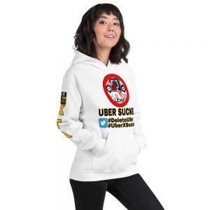 """UBER SUCKS!"" Premium Soft & Heavy Blend Hoodie"