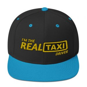 """I'M THE REAL TAXI DRIVER - v2"" Embroidered Yupoong Snapback Hat"