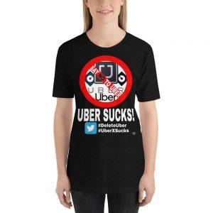 """""""UBER SUCKS!"""" Premium Dark Color T-Shirt"""