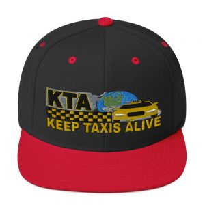 """KEEP TAXIS ALIVE - v1"" Embroidered Yupoong Snapback Hat"