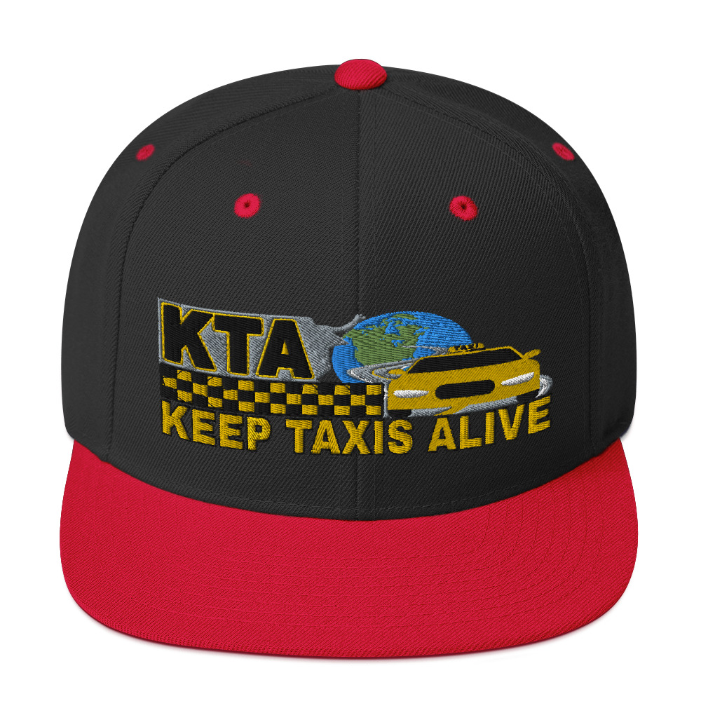 """""""KEEP TAXIS ALIVE - v1"""" Classic Yupoong Snapback Hat"""