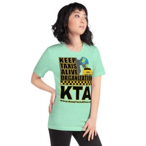 """""""KEEP TAXIS ALIVE ORGANIZATION"""" Bright Color Short-Sleeve Unisex T-Shirt"""