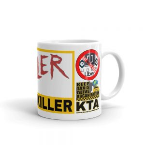 """MR. THRILLER THE UBER KILLER"" Premium Glossy White Mug"