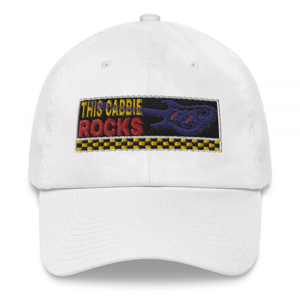 """""""THIS CABBIE ROCKS"""" Yupoong Dad Hat"""