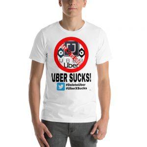 """""""UBER SUCKS!"""" Premium Bright Color T-Shirt"""