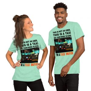 """""""THIS IS NOT AN UBER"""" Bright Color Short-Sleeve Unisex T-Shirt"""