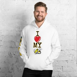 """I LOVE MY TAXI"" Premium Soft & Heavy Blend Hoodie"