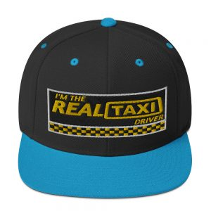 """I'M THE REAL TAXI DRIVER - v1"" Embroidered Yupoong Snapback Hat"