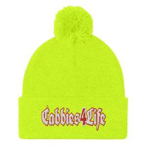 """""""CABBIES4LIFE"""" Sportsman Pom-Pom Beanie"""