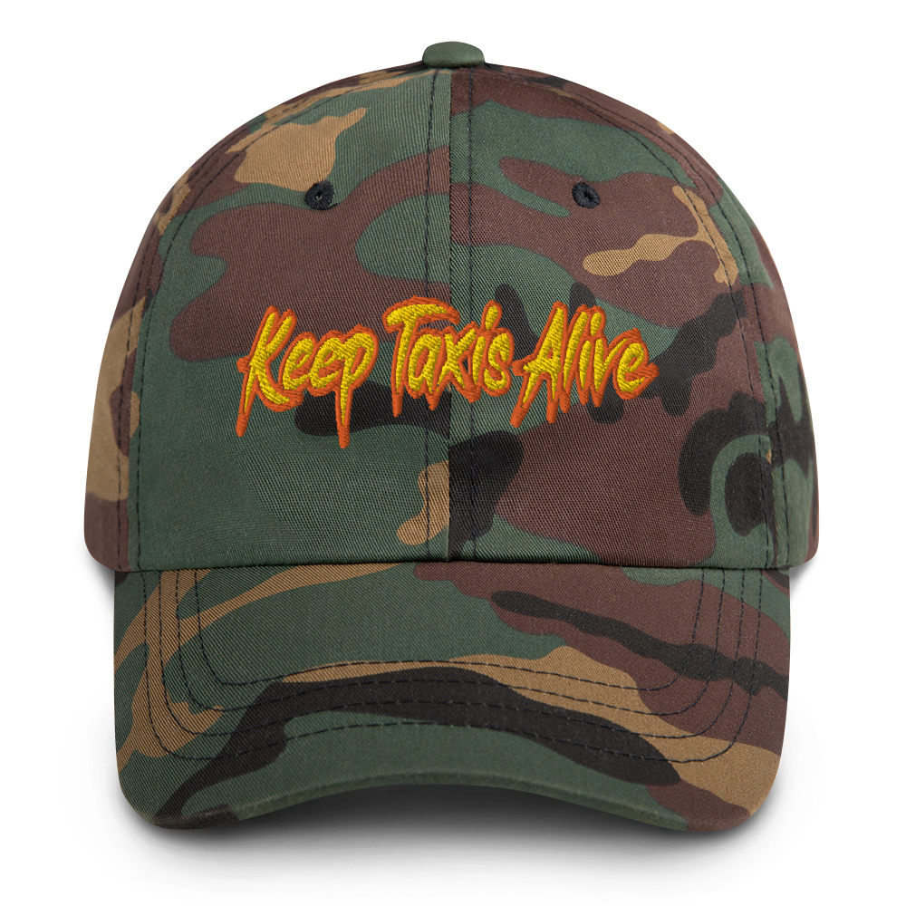 """""""KEEP TAXIS ALIVE – v2"""" Yupoong Dad Hat"""