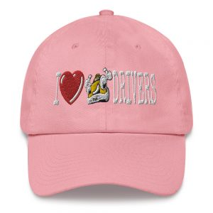 """""""I LOVE TAXI DRIVERS"""" Yupoong Dad Hat"""