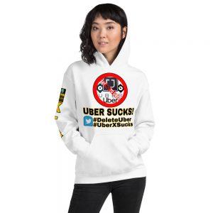 """""""UBER SUCKS!"""" Soft & Smooth Unisex Heavy Blend Hoodie"""