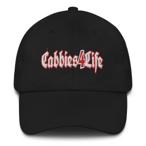 """CABBIES4LIFE"" Embroidered Yupoong Dad Hat"