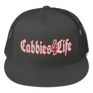 """CABBIES4LIFE"" Yupoong 5 Panel Trucker Cap"