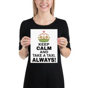 """KEEP CALM"" Premium Matte Paper Poster"