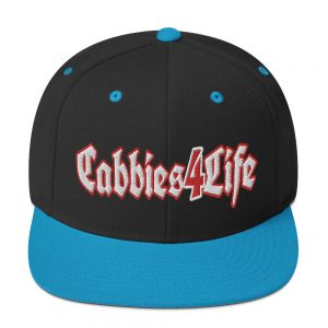 """CABBIES4LIFE"" Embroidered Yupoong Snapback Hat"