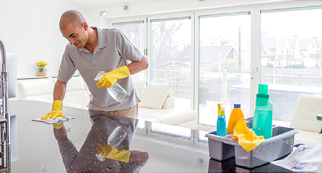 Disinfecting your home if someone is sick