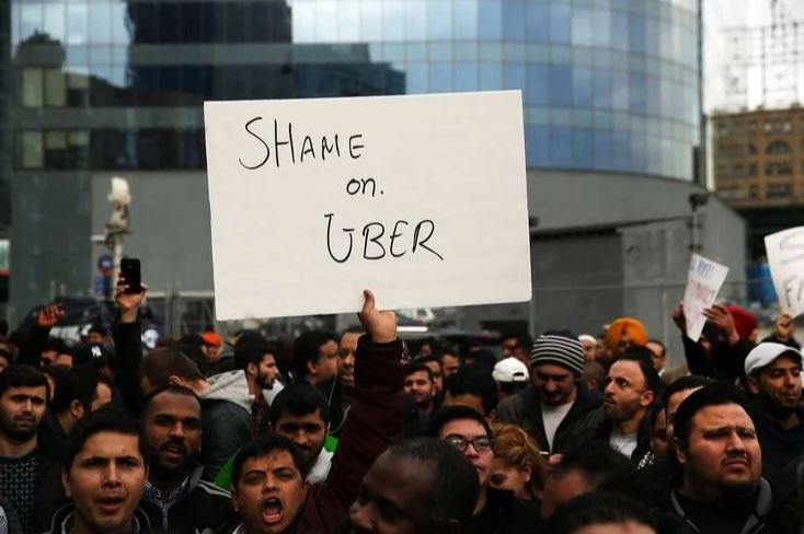 Uber's Unhealthy Working Environment
