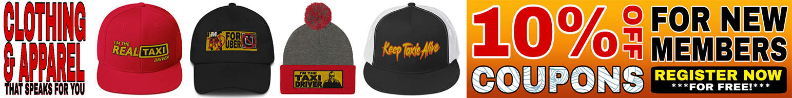 KTA Marketplace (The Official Online Marketplace of KeepTaxisAlive.Org): 10% OFF Coupons for New Members