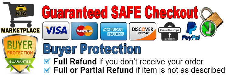 Buyer Protection & SAFE Checkout Guaranteed on KTA Marketplace