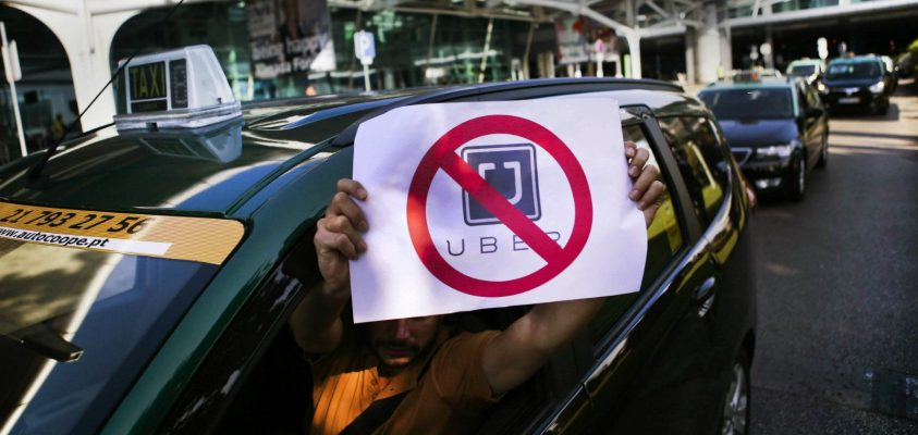 Keep Taxis Alive and Say NO to UBER