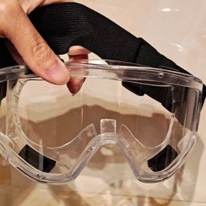 Fully Enclosed Safety Goggles with Anti-Fog Air Vents