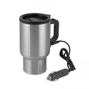 ABEDOE Stainless Steel Electric Travel Coffee Mug (16oz/450ml)
