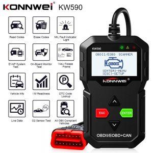 KONNWEI KW590 OBD2 Diagnostic Scanner & Code Reader