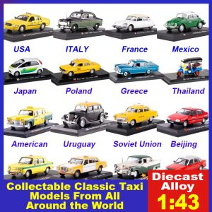 Collectable Diecast Classic Taxi Models From All Around The World