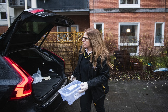KTA Blog - How Sweden's taxi drivers are stepping up to help with Covid-19 testing