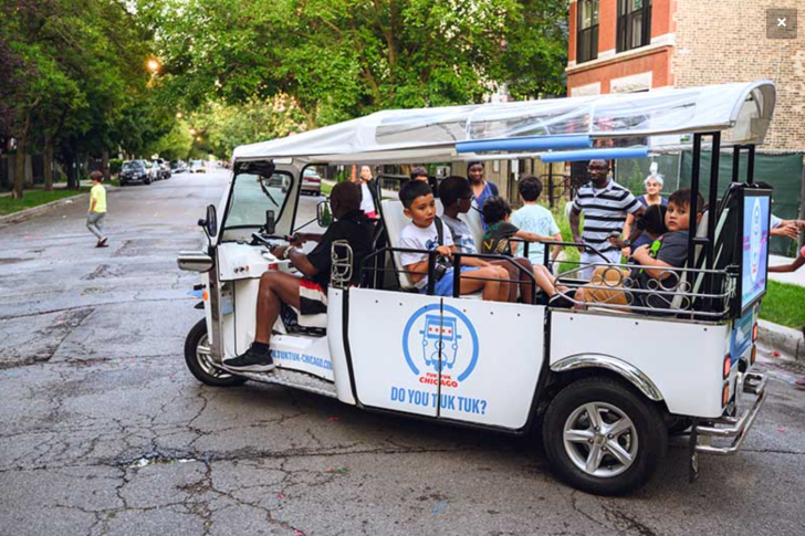 KTA Blogs - Chicago's low-speed electric tuk-tuks could reduce traffic injuries & emissions