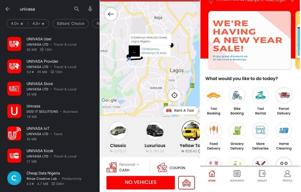 KTA News - After Ekocab, Lagos yellow taxis partner with new ride-hailing company