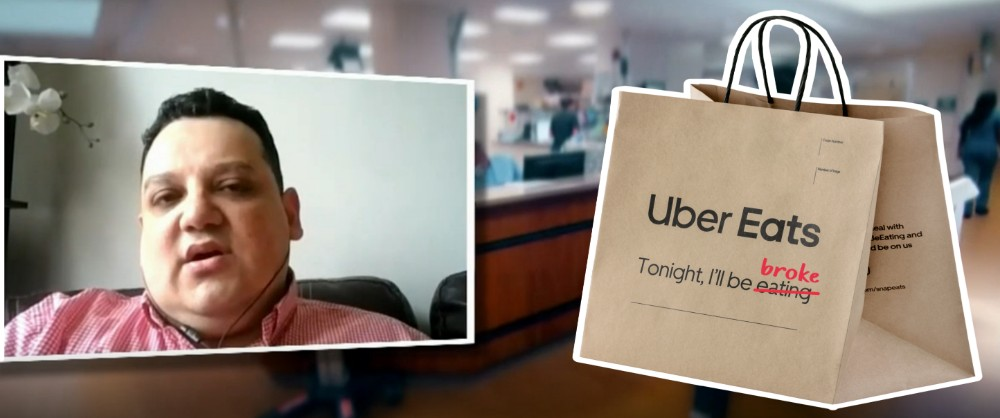 KTA News - Uber Eats emptied a Chicago man's bank account with a $4000 charge for a BLT delivery order