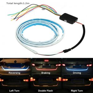 Truck Flexible Soft Led Tailgate Strip Lights Bar With 5 Light Modes